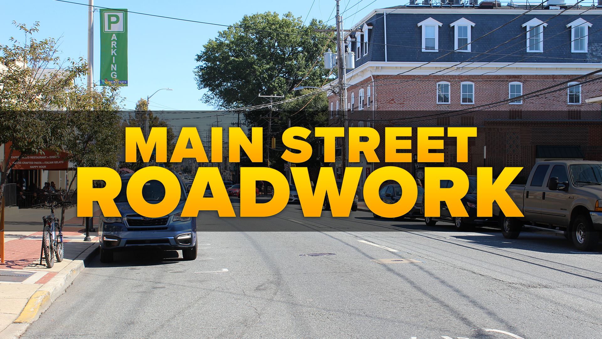 Main Street Road Work