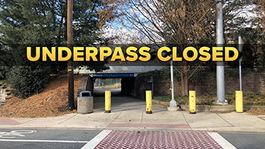 Rodney Underpass Closed-websit