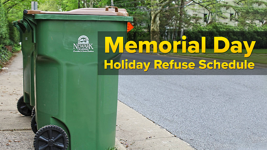 Refuse Holiday Schedule-Memorial Day Website