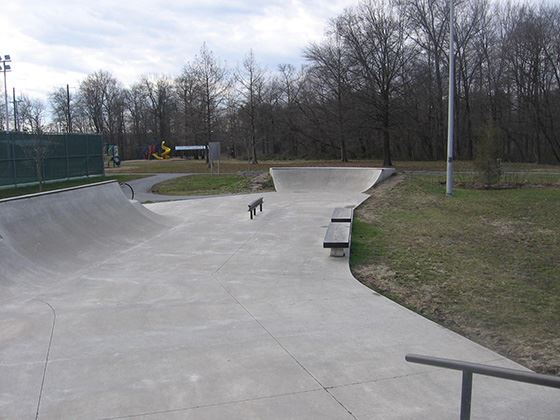 Philips Park Skate Spot Small