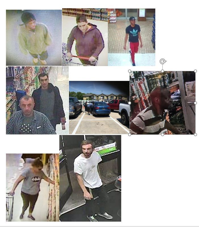 Shoplift suspects