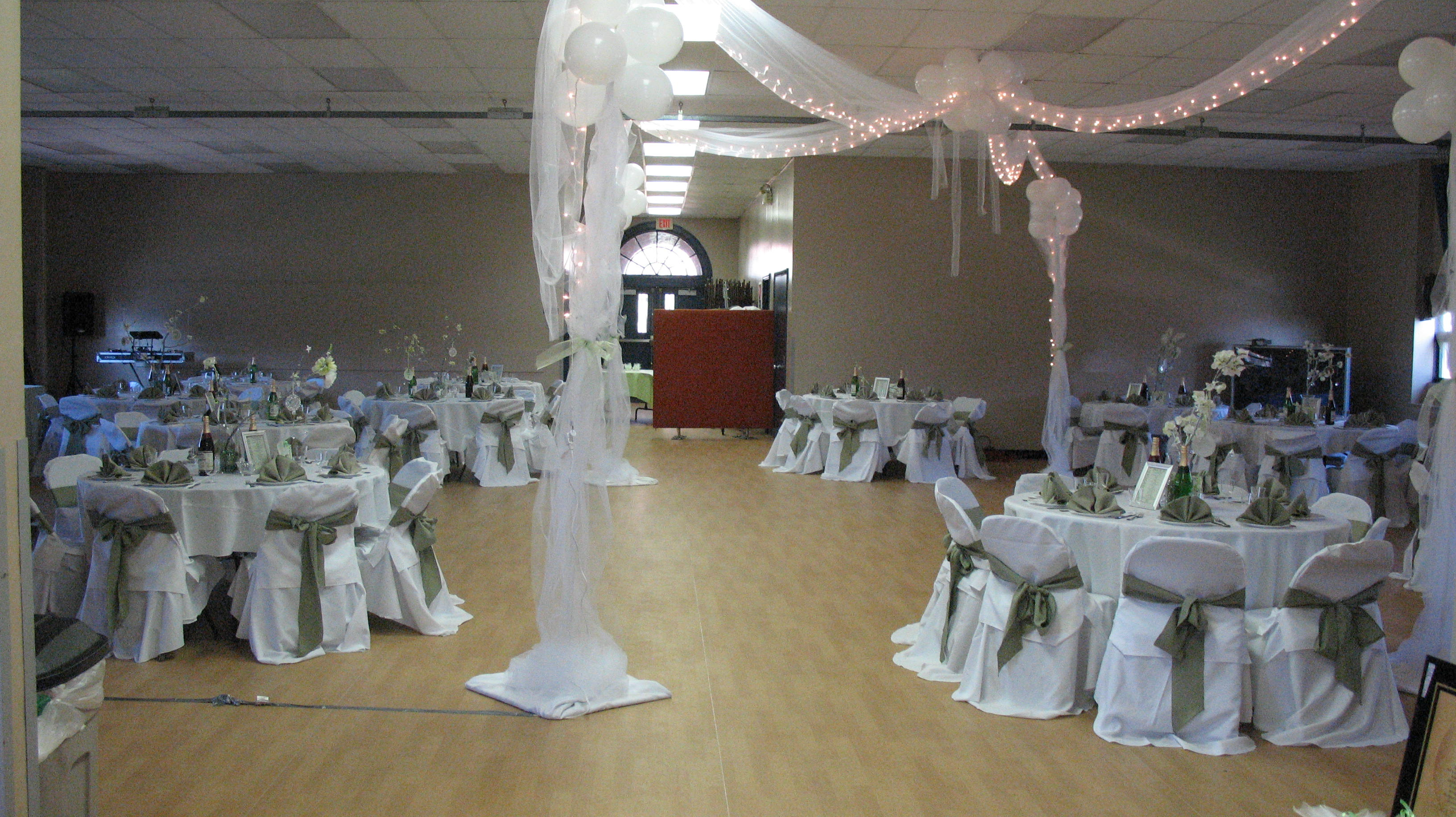 Wedding Reception in Main Room